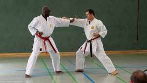 Shihan Bill Marsh & Sensei Axel Roth